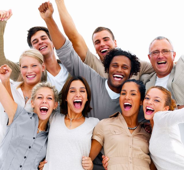 happy people