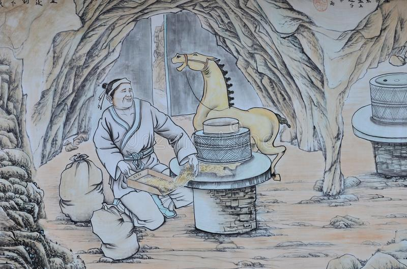 chinese-painting-ancient-chinese-farmer-working-his-horse-47594210