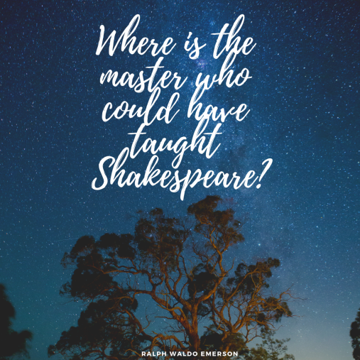 coacht.blog Shakespeare quote Emerson